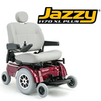 Jazzy 1170 XL Plus