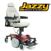 Jazzy Select 6 Ultra